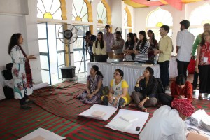 Araish Workshop conducted by Conservation Architect, Ms. Kavita Jain
