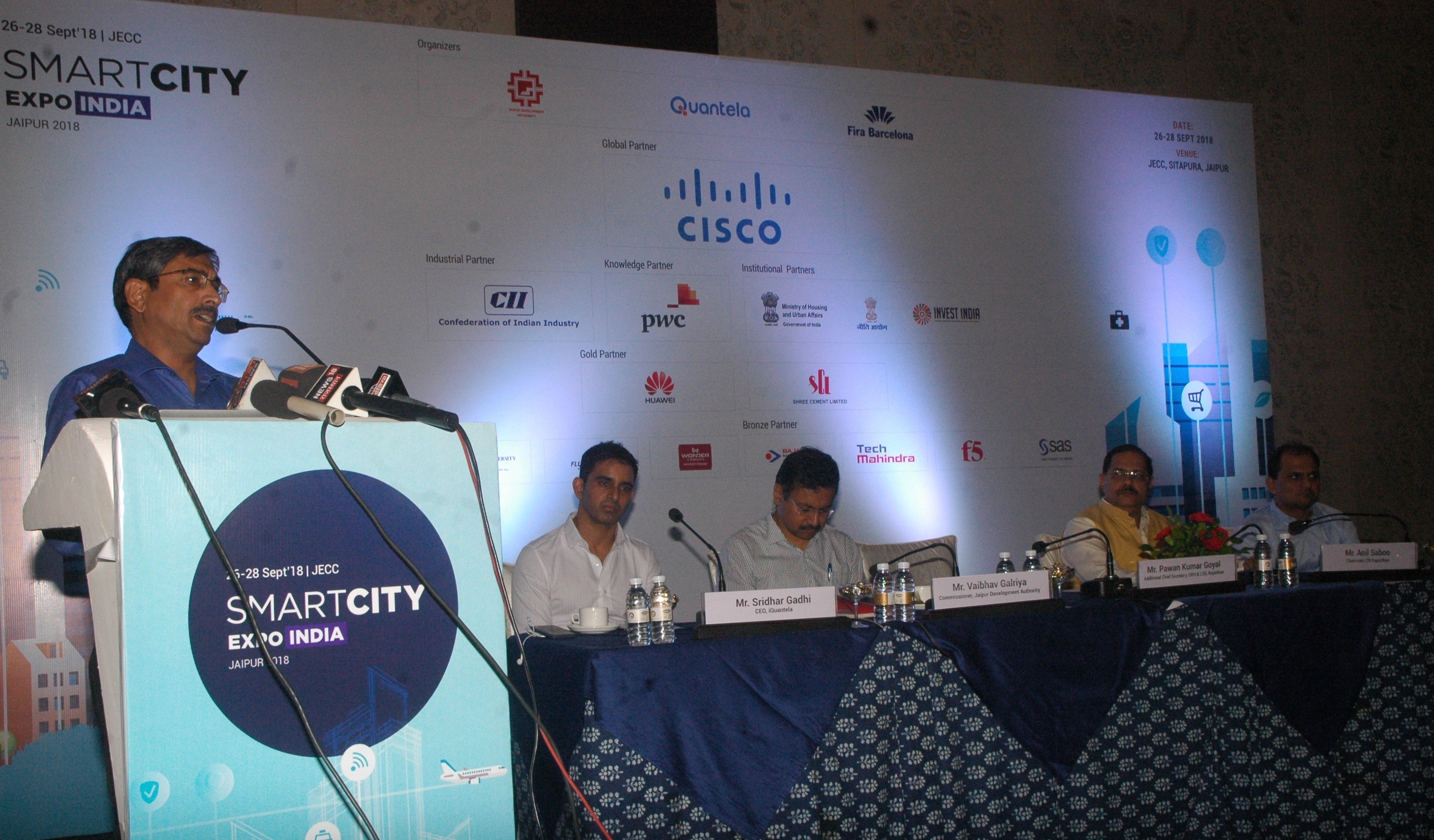 Smart City Expo India 2018 To Position Jaipur On The International Map